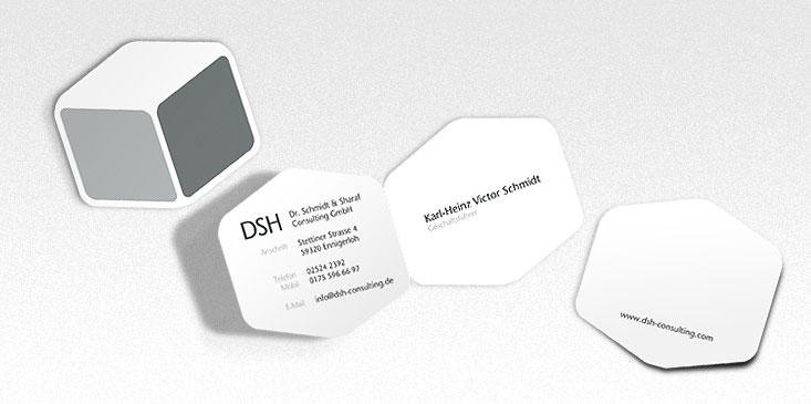 Corporate Design and stationary by Jakob Straub